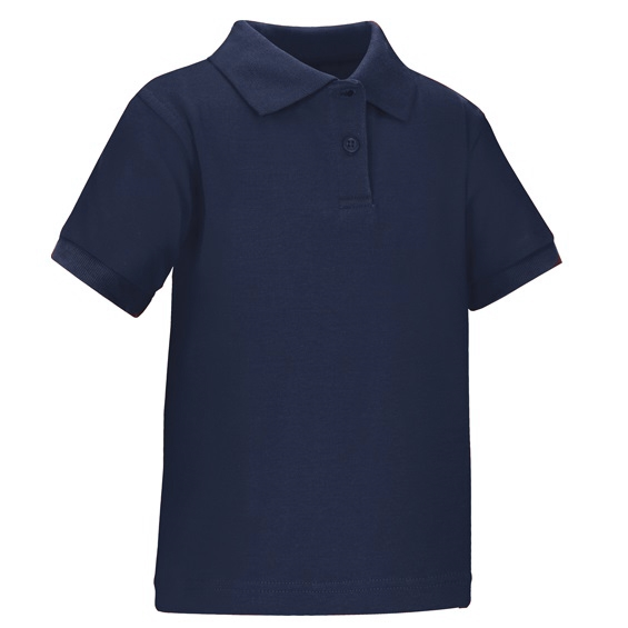 Uniform shirt blue